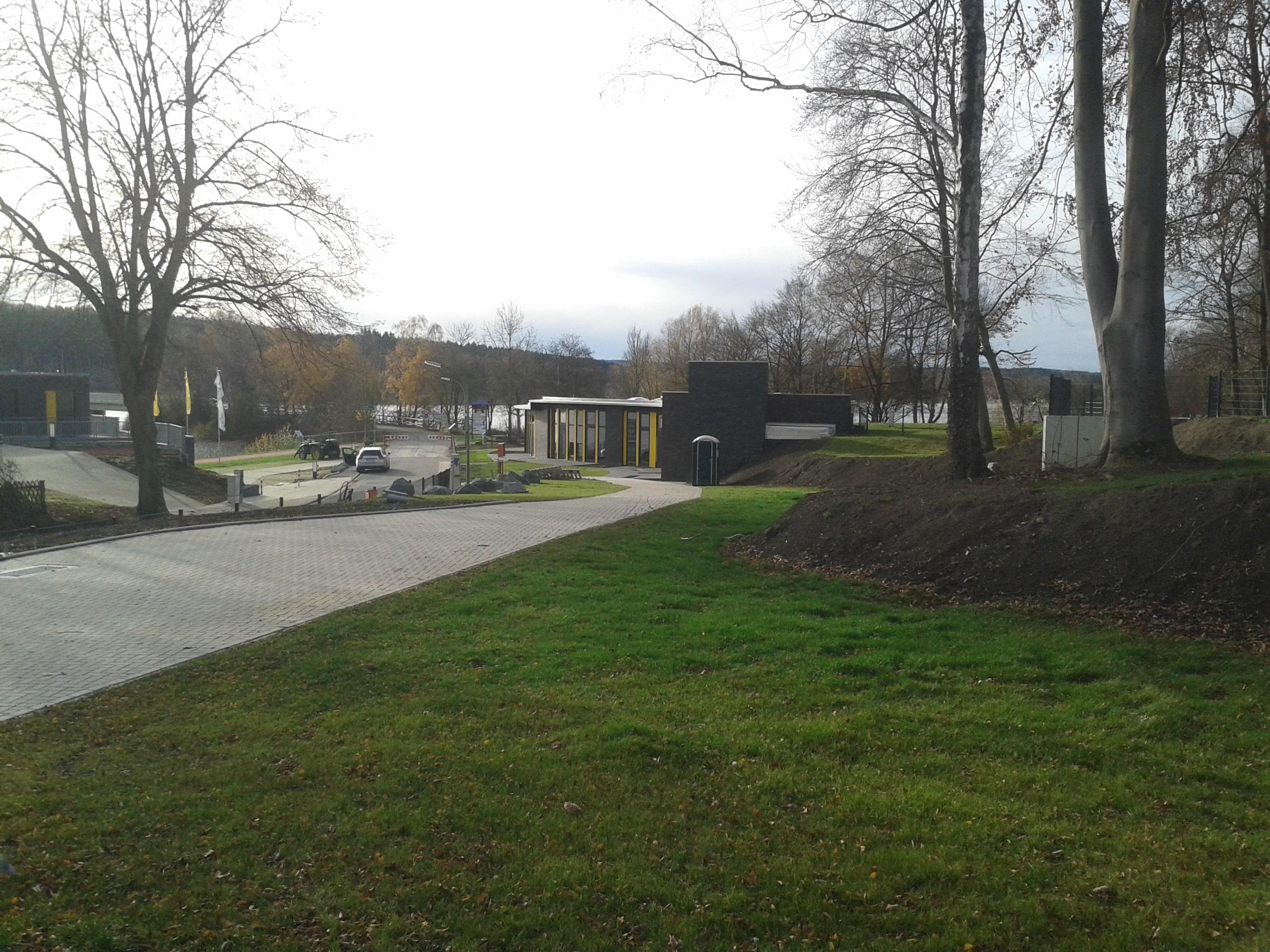 Wohnmobilstellplatz am Möhnesee